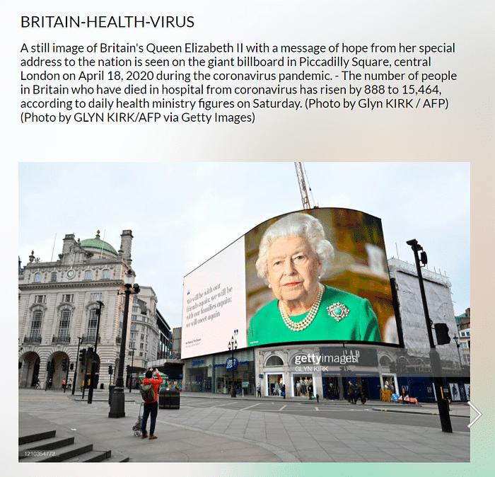 Pic of Queen's Billboard Edited To Thank PM Modi For COVID Vaccine