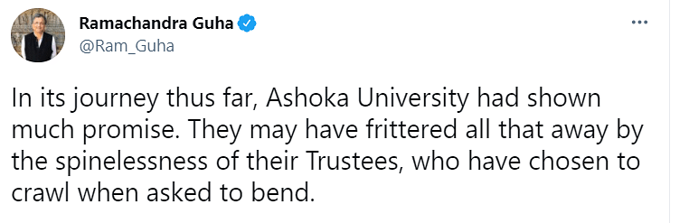 'Spineless': Academics Slam Ashoka University Over Exits