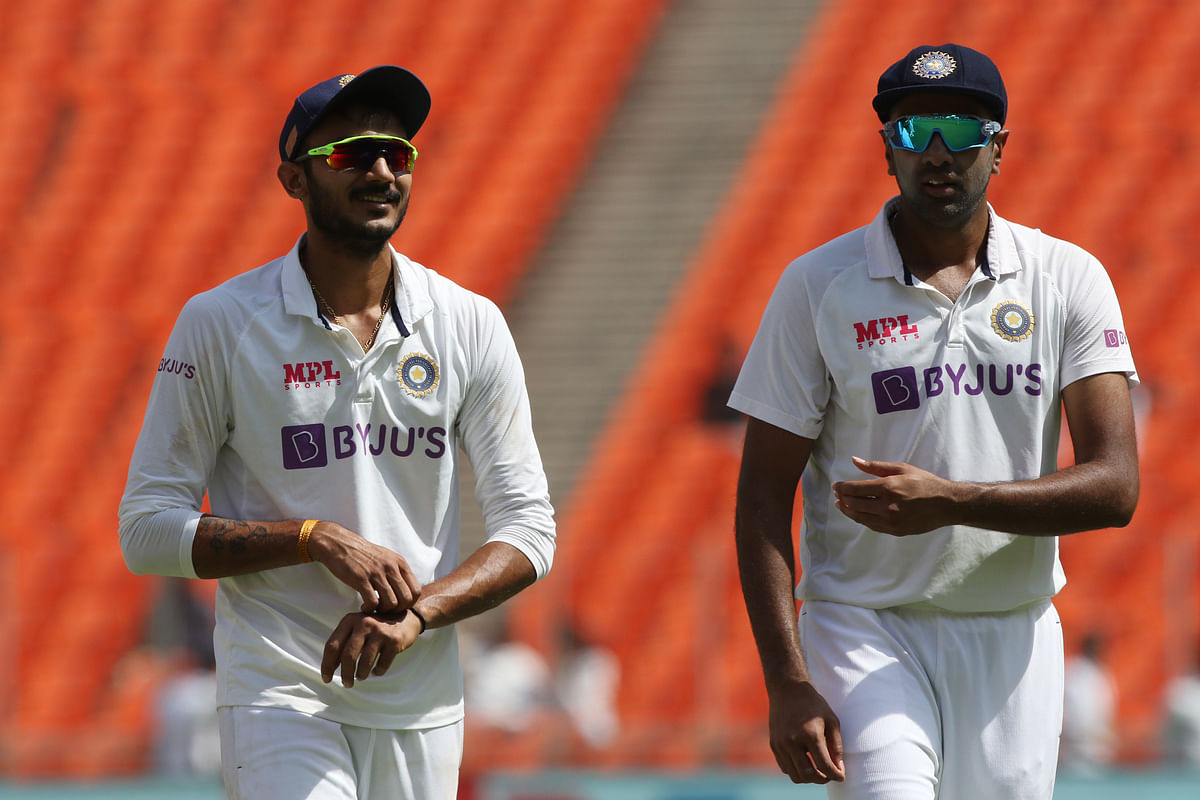 R Ashwin and Axar Patel were among India's top performers in the Test series against England.