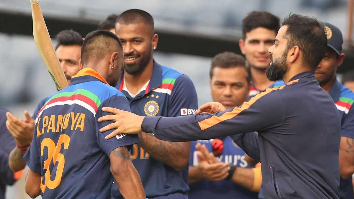 There were 2 sets of brothers playing for India and England in the Pune ODI.