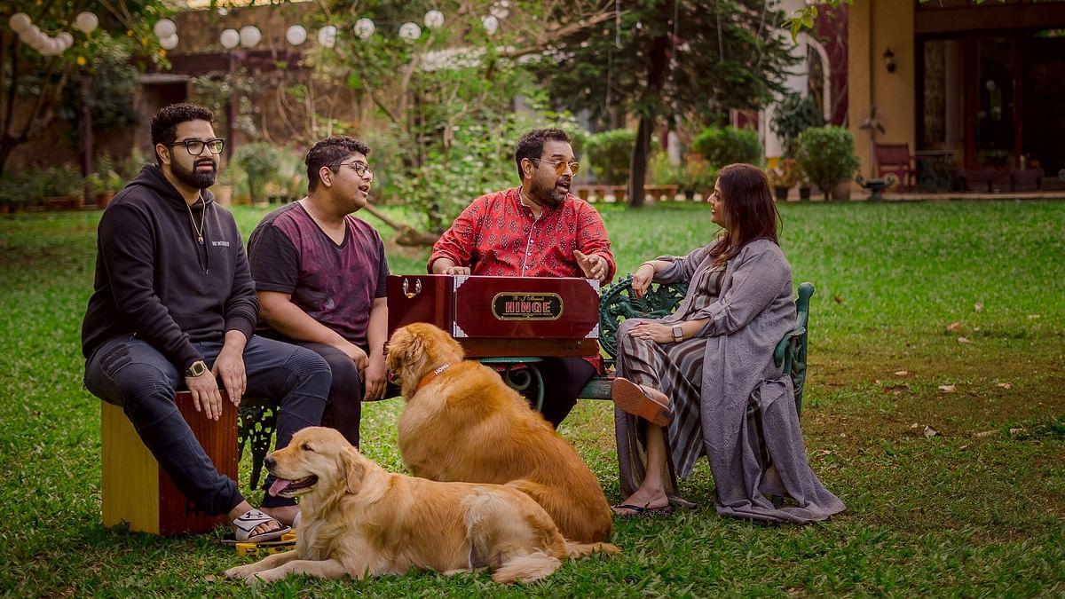 The first episode features renowned musician and composer Shankar Mahadevan