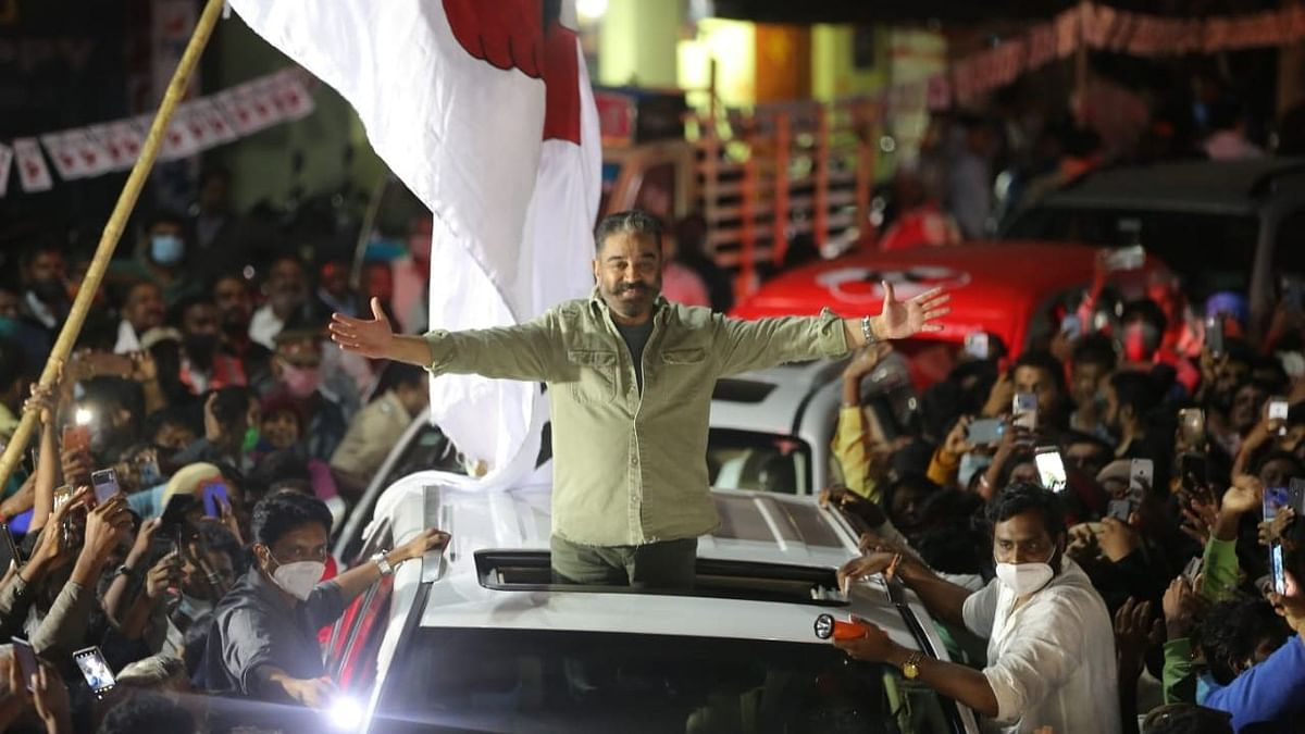 Tamil Nadu Polls: Kamal Haasan to Contest From Coimbatore South