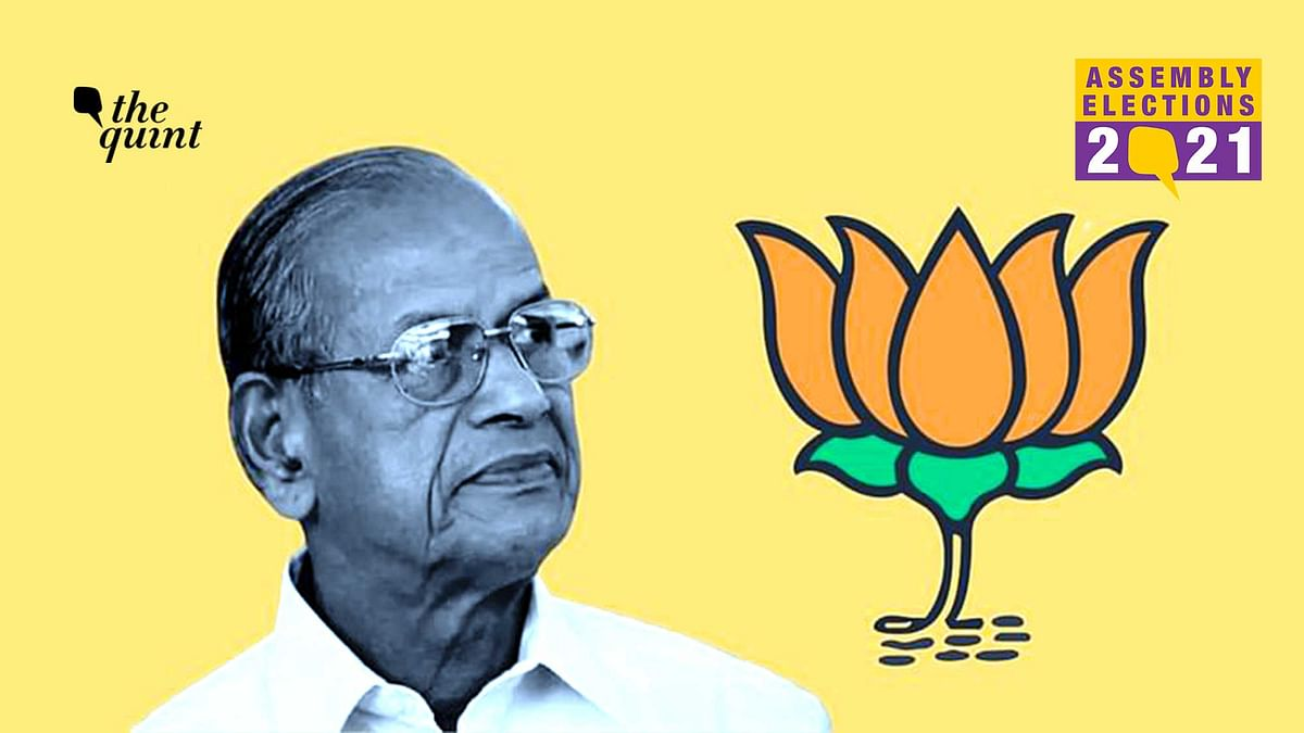 'Want to Bring BJP to Power in Kerala' : 'Metro Man' E Sreedharan