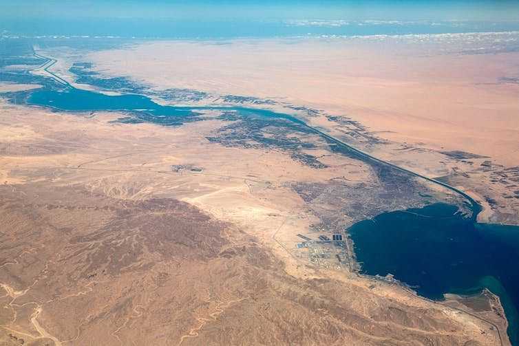 Egypt's Suez Canal is a pinch point for global shipping.