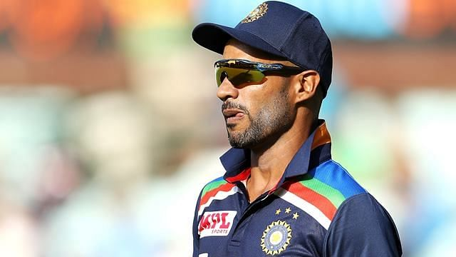 Shikhar Dhawan played only once in the T20Is against England.