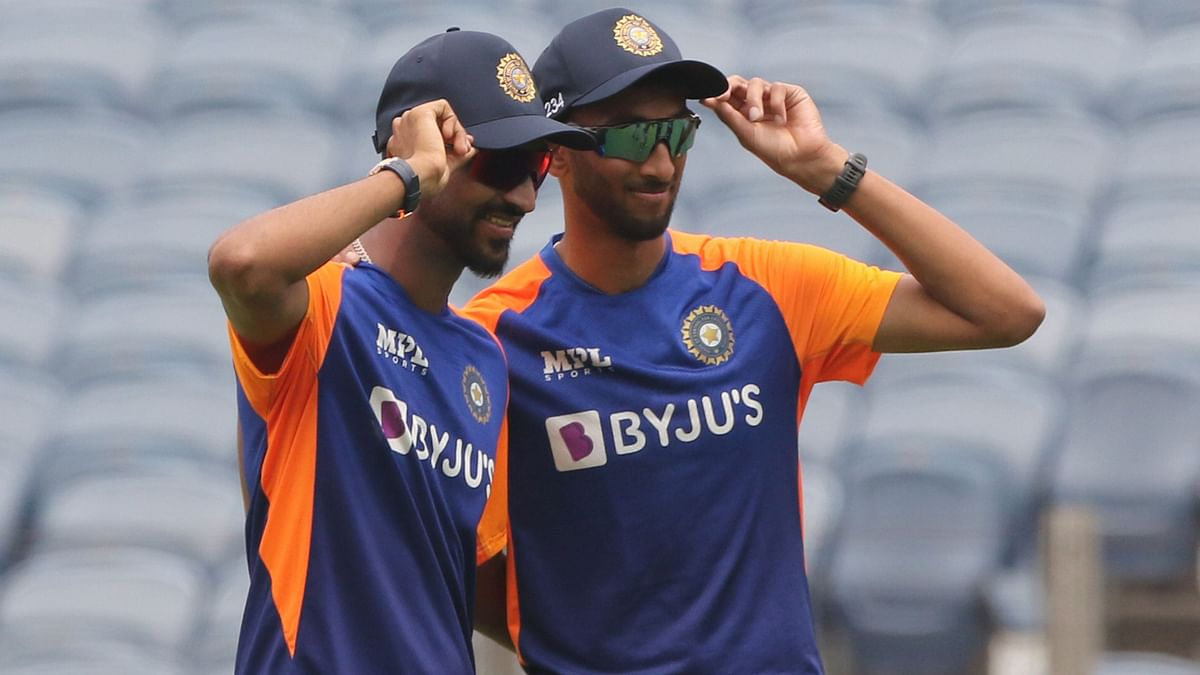 Prasidh Krishna and Krunal Pandya made their ODI debuts on Tuesday, vs England.