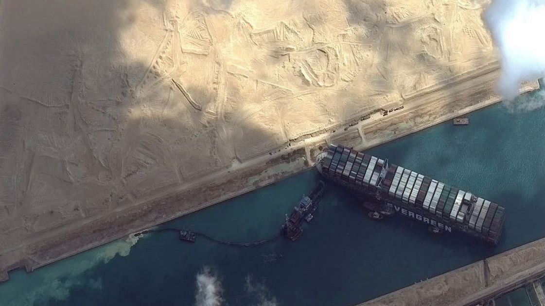 Ship Blocking Suez Canal Moves Slightly, Refloat Timeline Unclear