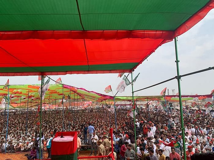 'BJP Not Our Representative': Akhilesh, Jayant at UP Mahapanchayat