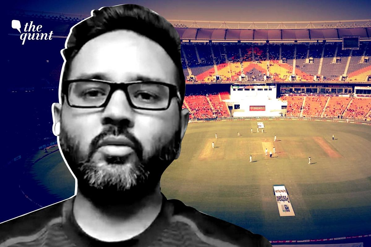 Former India cricketer Parthiv Patel believes the English team should thank India for preparing a pitch like that of the third Test in Ahmedabad.