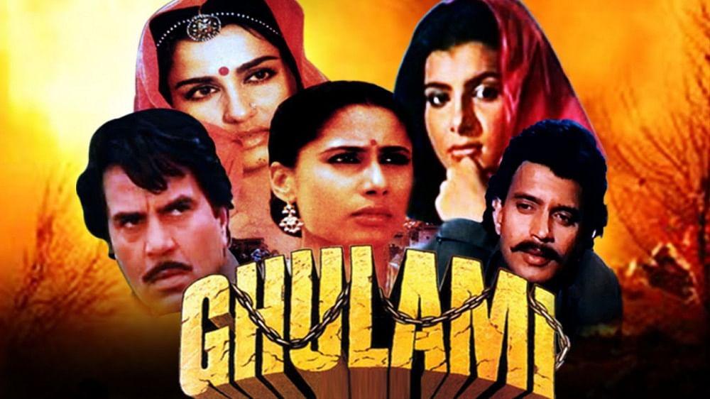 'Ghulami' film poster.