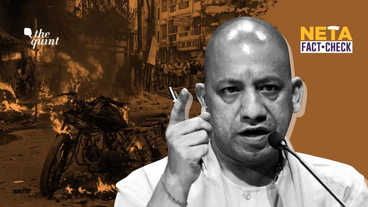 CM Yogi Turns Blind Eye to Facts, Falsely Claims 'No Riots in UP'