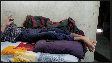 17-year-old Mohammad Akmal's limbs are not functional ever since he was shot during communal riots.