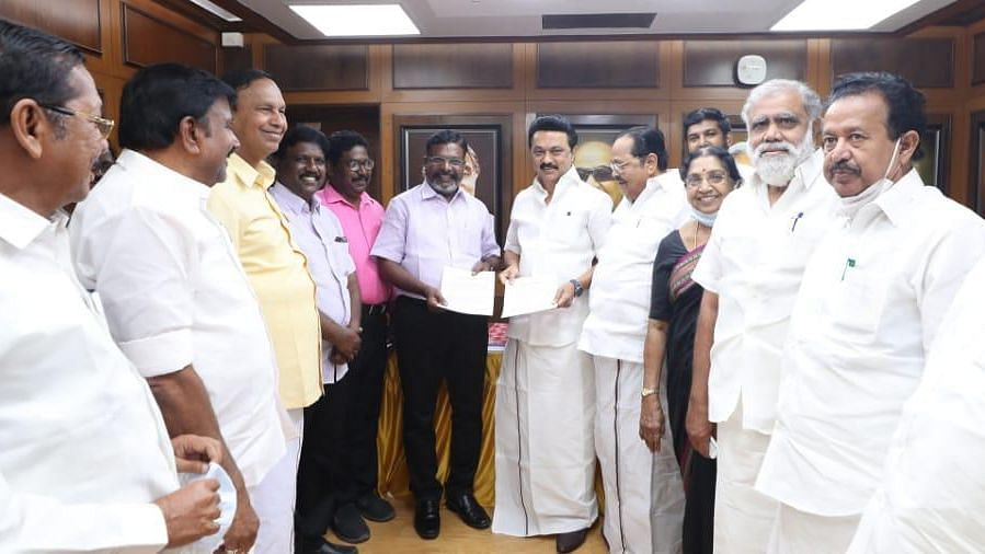 TN Polls: VCK Signs Memorandum With DMK, Will Contest in 6 Seats