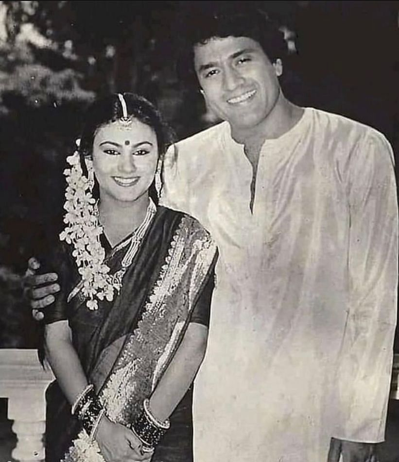 Arun Govil and Dipika Chikhlia