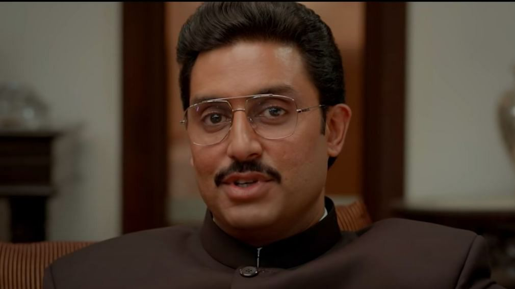 Abhishek Bachchan in <i>The Big Bull</i>.