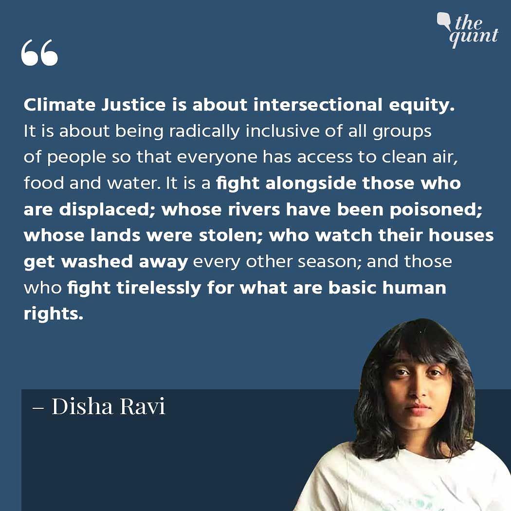 'Tricked Myself Into Thinking I Wasn't Booked, Jailed': Disha Ravi