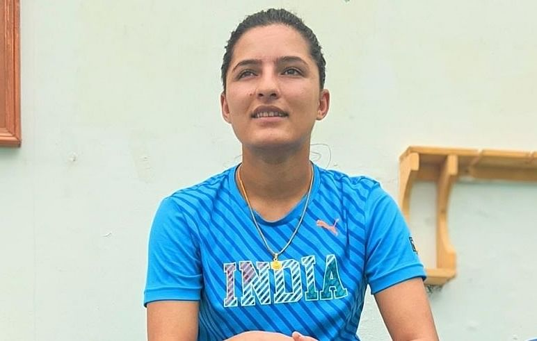 File picture of Sushma Verma who has been picked in India's squad for the home series against South Africa.