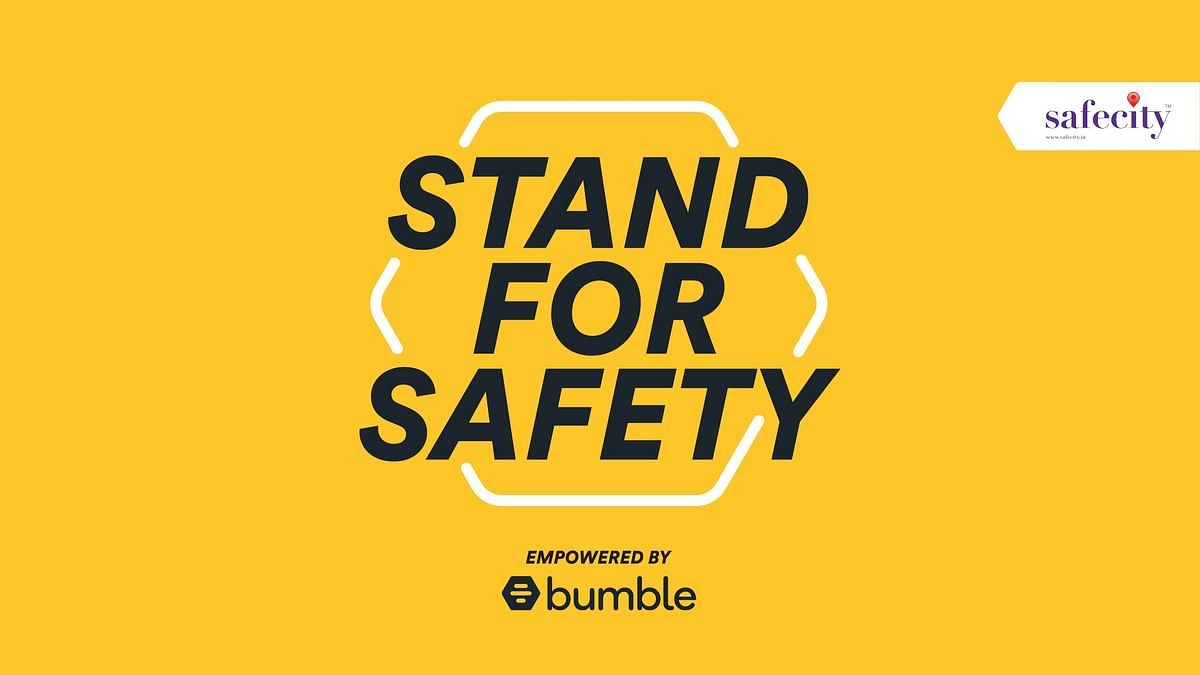 As part of its mission to create a safer, kinder and more respectful internet, Bumble has launched a new initiative called 'Stand For Safety'
