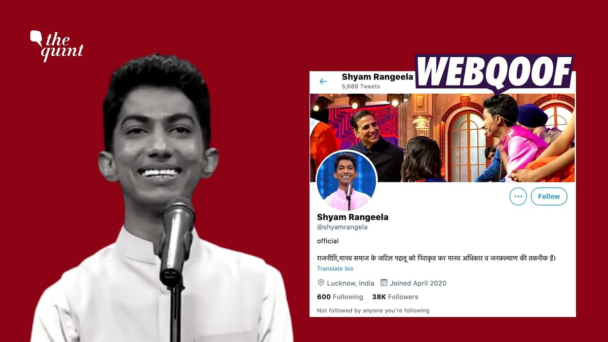 An imposter Twitter account of comedian Shyam Rangeela has cropped up with as many as 38,000 followers. Image used for representation.