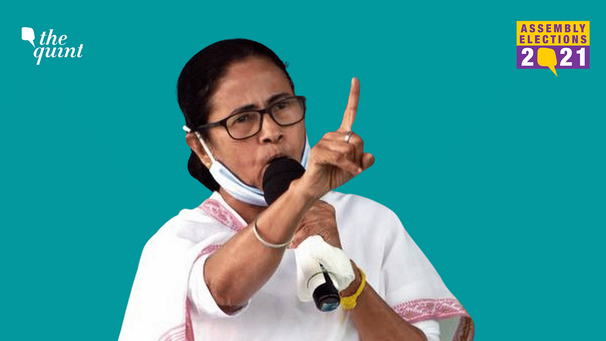 Addressing a public rally in Domjur, West Bengal Chief Minister Mamata Banerjee on Thursday, 8 April, slammed the Election Commission.