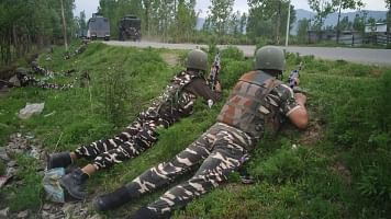 3 JeM Terrorists Killed in an Encounter in Jammu and Kashmir's Tral