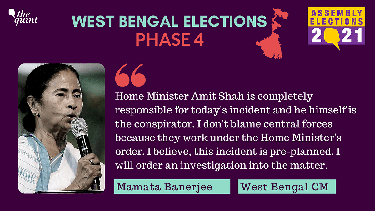 WB Polls: Phase 4 Marred by Violence; 75.93% Turnout  till 5:30 PM
