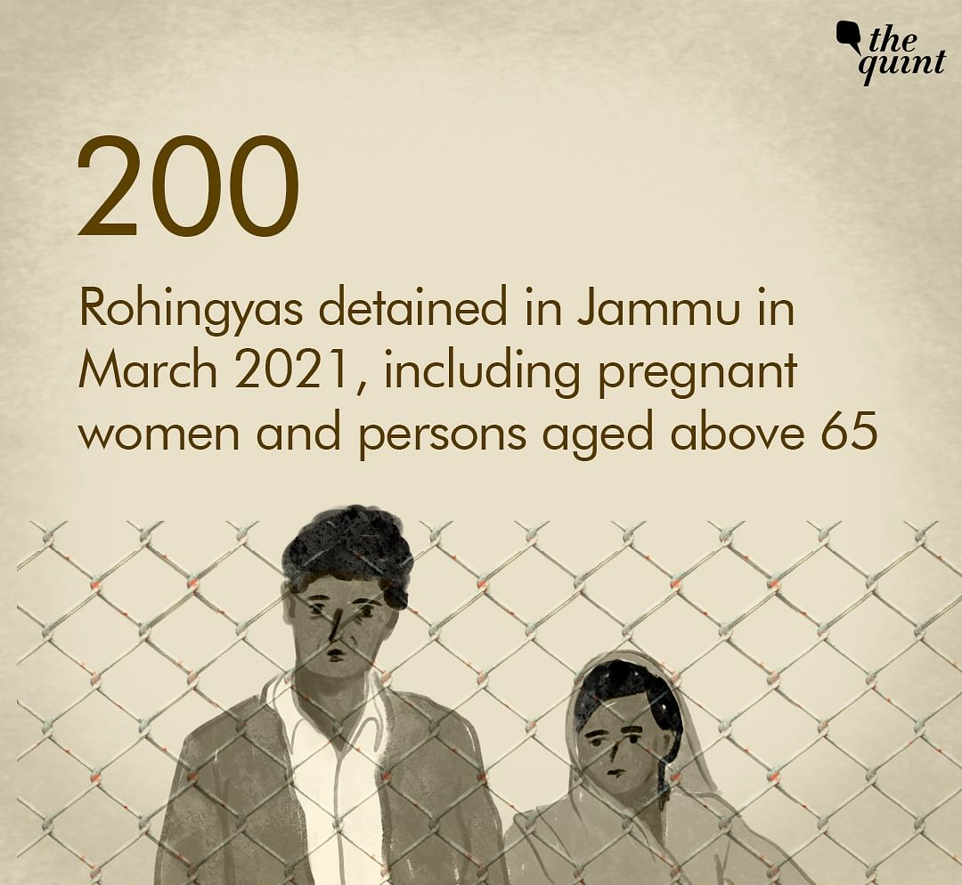 "The massive crackdown on Rohingua settlements is taking place in the union territory of Jammu & Kashmir under the ""anti-immigrant drive""."