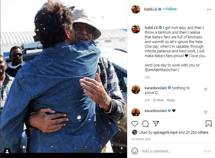 Babil Shares Picture From Piku Sets, Hopes to Work With Amitabh