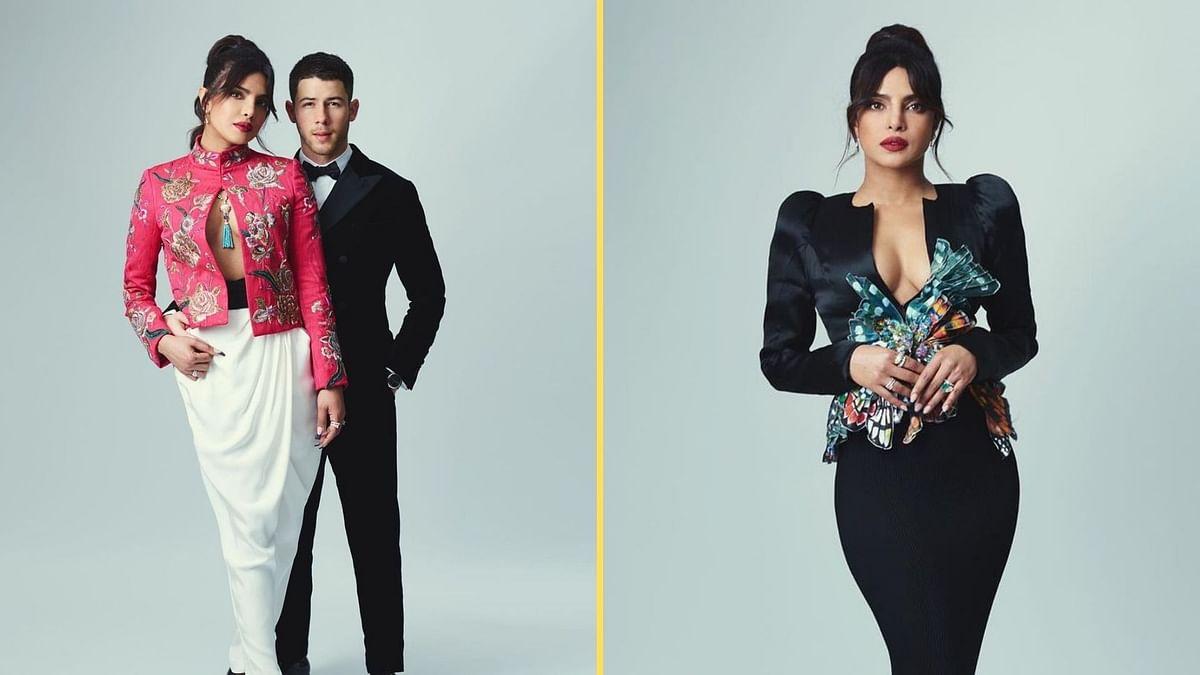 Priyanka Chopra & Nick Jonas Stun at This Year's BAFTAs Red Carpet