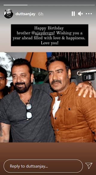 Kajol, Anil, Sanjay & Other Celebs Wish Ajay on His 52nd Birthday
