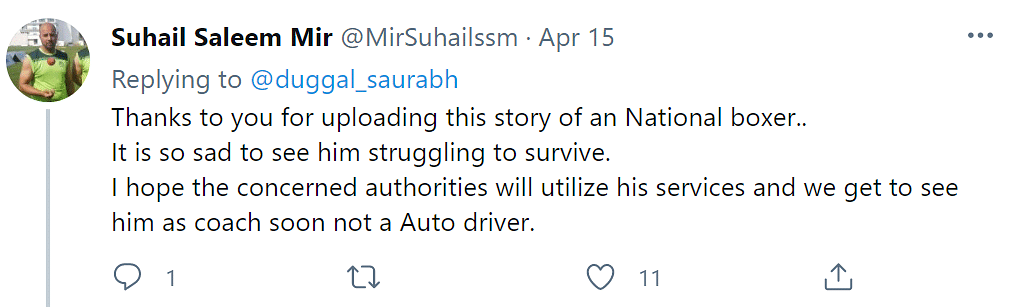 Twitter Reacts to National Boxer Turned Auto Driver's Story