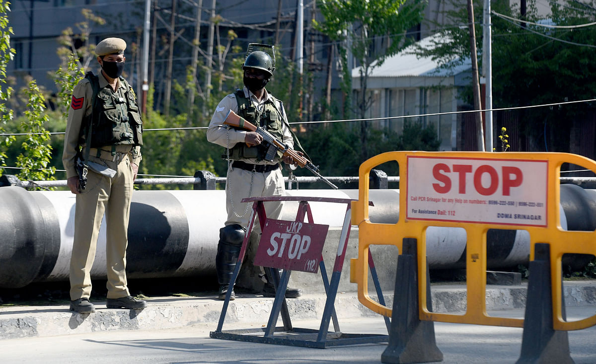 In Photos: 34-Hour Weekend Curfew in J&K to Curb COVID Spread