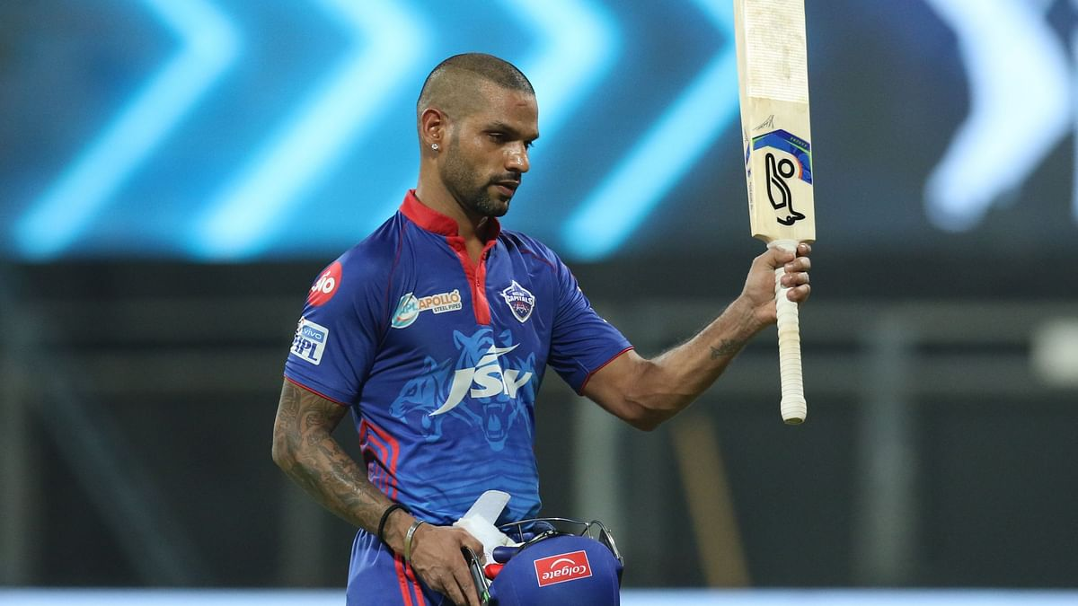 Shikhar Dhawan scored 92 as Delhi recorded their second victory of IPL 2021.