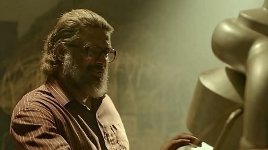 Actor Madhavan as Nambi Narayanan in the movie <i>Rocketry</i>.