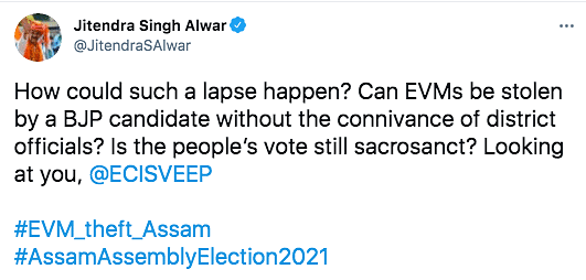 Assam EVM Row: EC Orders Repoll at Station, Suspends 4 Officers