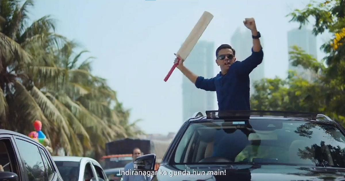 Rahul Dravid in the advertisement which has left Virat Kohli and the fans in splits