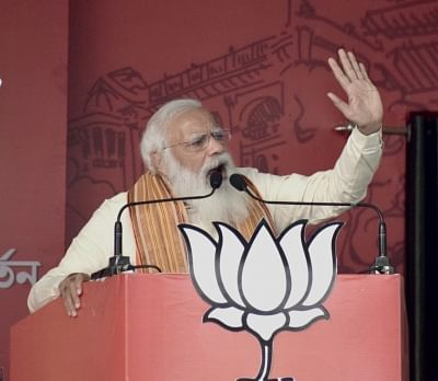 Modi Cancels Bengal Rallies on 23 April For High-Level COVID Meet