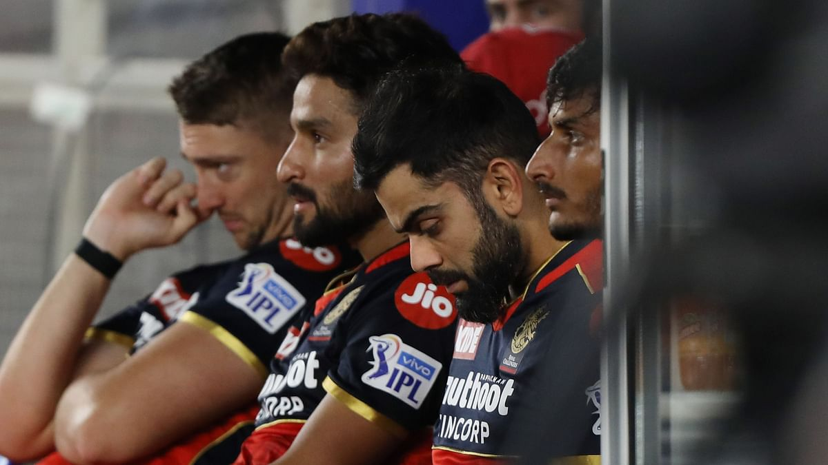 RCB lost the match by 34 runs.