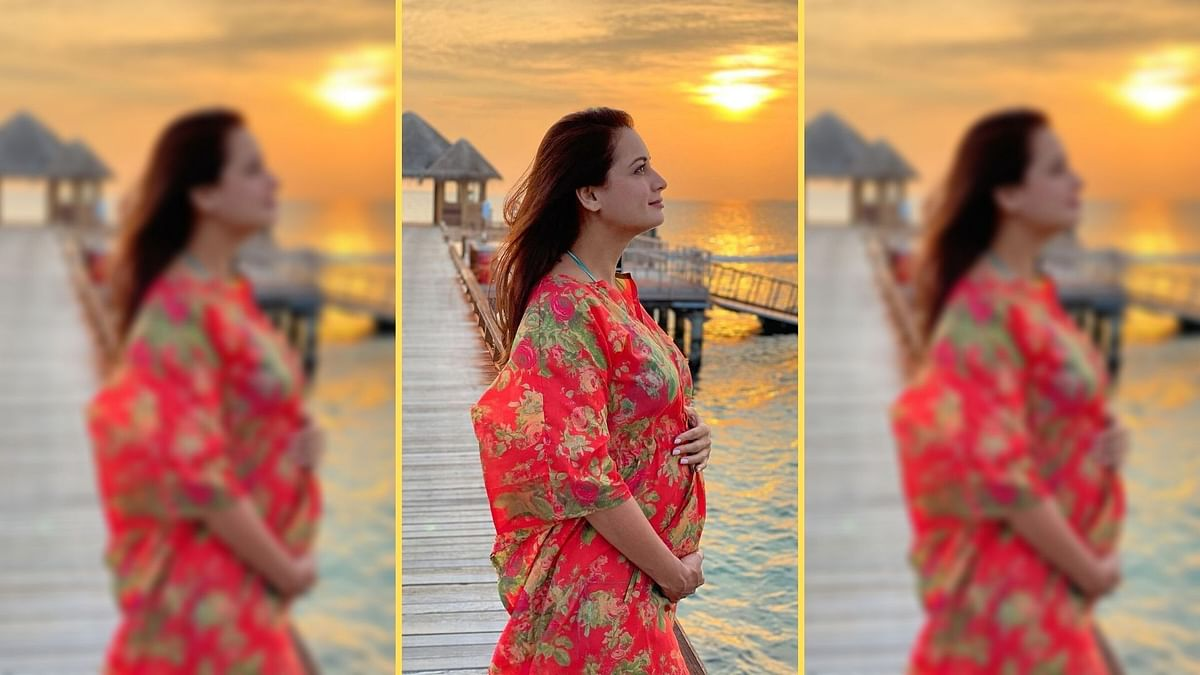 Dia Mirza Announces Pregnancy, Shares Pic