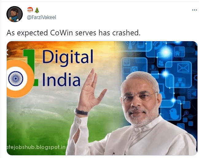 Memes Galore as CoWin Site Crashes After Registration Begins