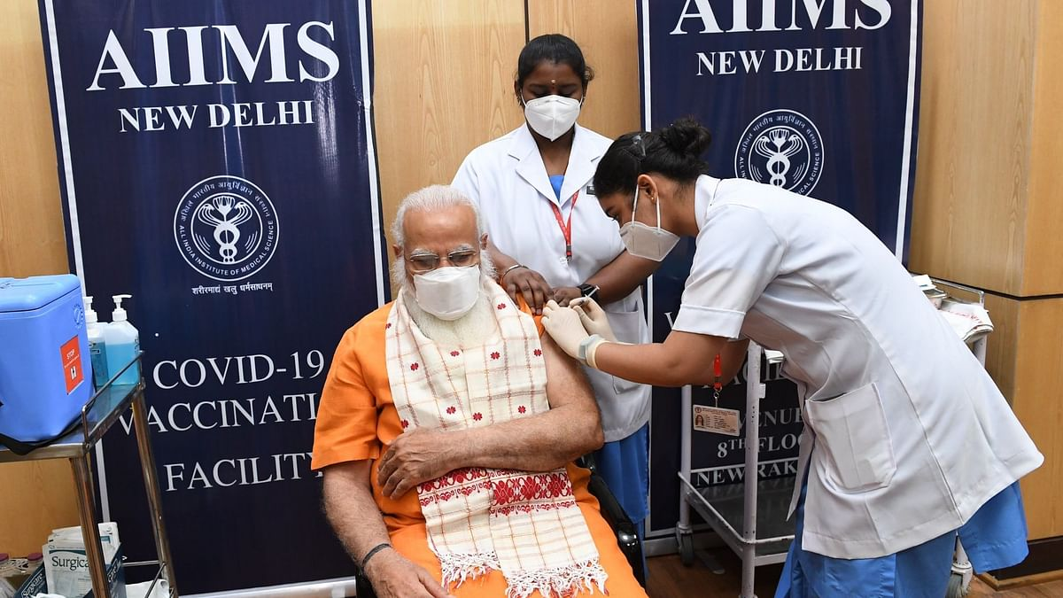 'Get Your Shot Soon': PM Modi Gets Second Dose of COVID-19 Vaccine