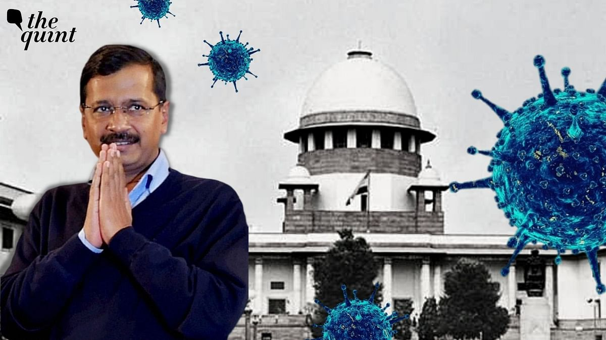 """The Supreme Court of India, on Friday, 30 April, told the Delhi government to """"keep politics aside"""" and talk to the Centre amid the horrific COVID-19 crisis."""