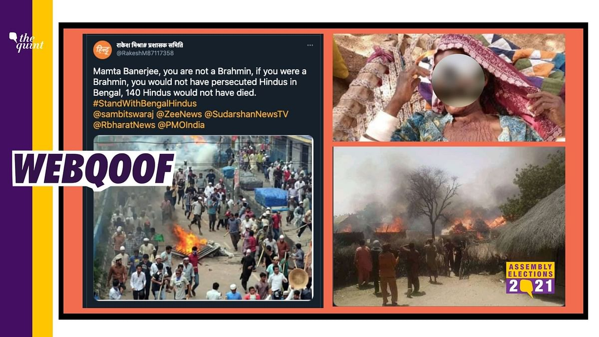 Old, Unrelated Images Viral to Show 'Atrocities' on Hindus in WB