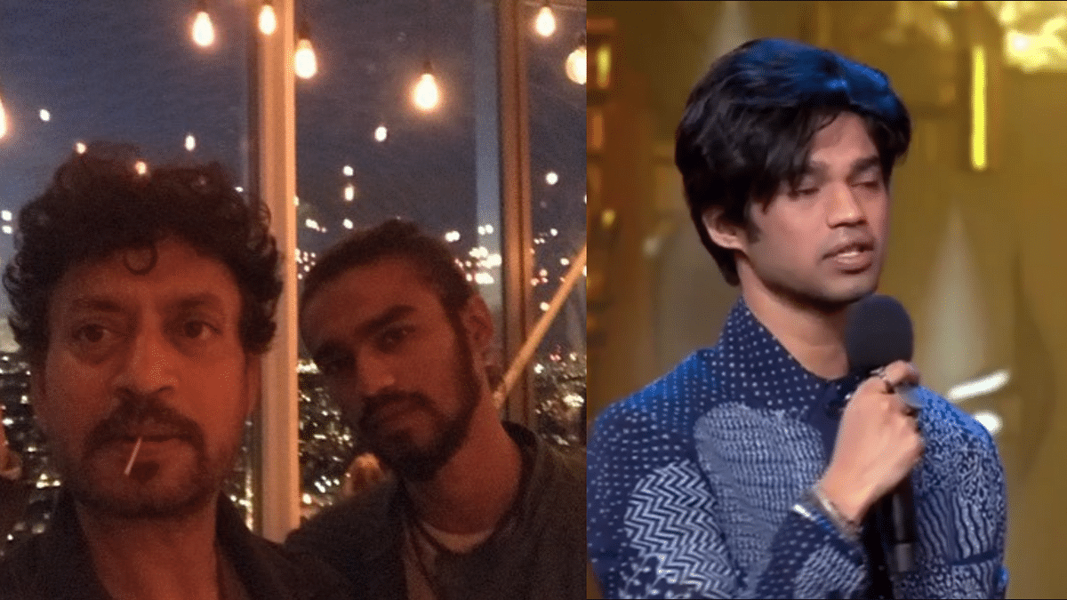 Irrfan Khan's Son Accepts Honour on His Behalf, Gets Emotional