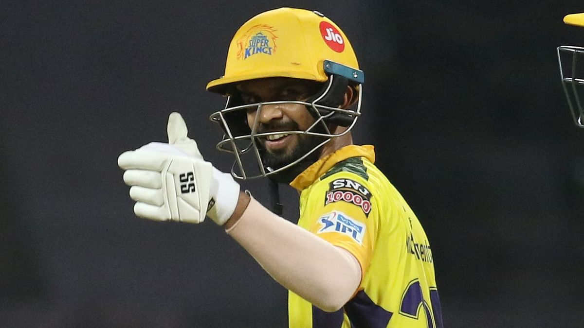 Ruturaj Gaikwad was also part of a 115-run opening partnership with Faf du Plessis against KKR.