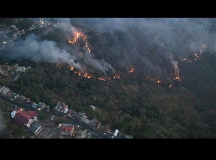 Since January 2021, the Lunglei district blaze is the fifth major forest fire in the four northeastern states