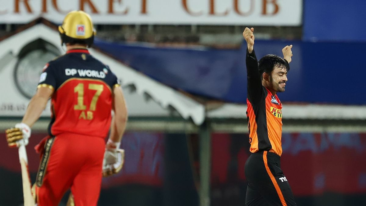 Rashid Khan picked 2 wickets and conceded just 18 runs in his 4 overs vs RCB on Wednesday.