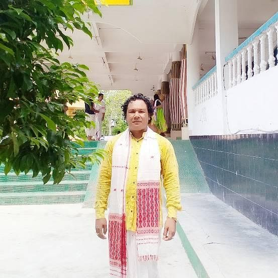 File image of Retul Saikia, one of the abducted ONGC staffers