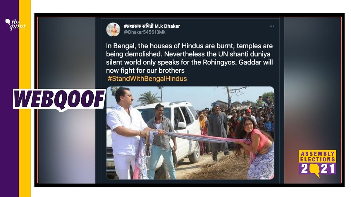 Still From 2014 Bhojpuri Film Viral as 'Hindus Tortured in Bengal'