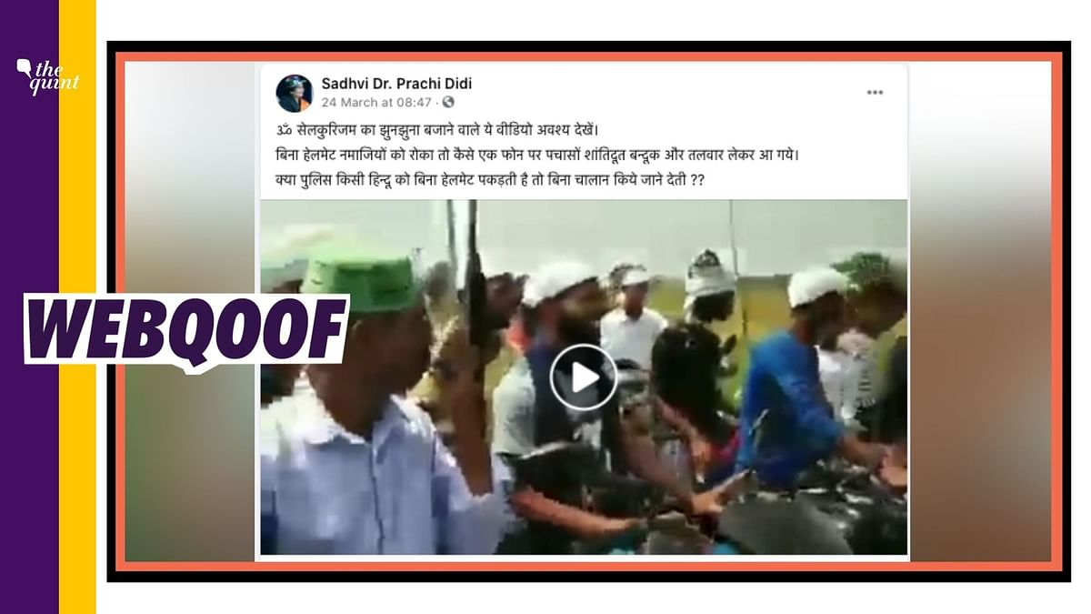 Road Safety Awareness Video Shared With False Communal Spin